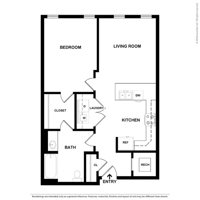 Ledger A - North Floor Plan